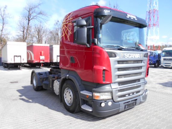 SCANIA R420 CR 19 Hydraulika
