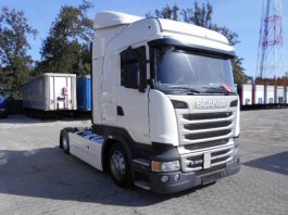 SCANIA R410 HIGHLINE-Streamline, EURO6, Low Deck TOP