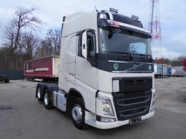 VOLVO FH 13 500 GLOBE, DUAL CLUTH, 6X2 TOP