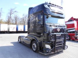DAF XF 106.510 SUPERSPACECAB EURO6 HARLEY, Low Deck TOP - SHOW TRUCK