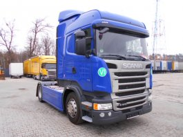 SCANIA R410 HIGHLINE-STREAMLINE, EURO6, 2016 zánovné auto TOP