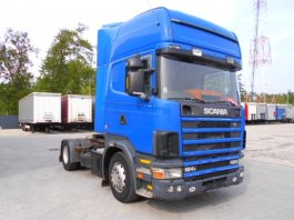 SCANIA 124L 420 TOPLINE, EURO3, Manual, Retarder