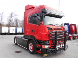 SCANIA R620 HIGHLINE, MANUAL, RETARDER, Hydraulika, EURO5, BUDWEISER ADELE