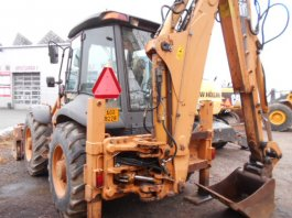 CASE SUPER 695 R POWERSCHIFT, 4X4  TraktorBager
